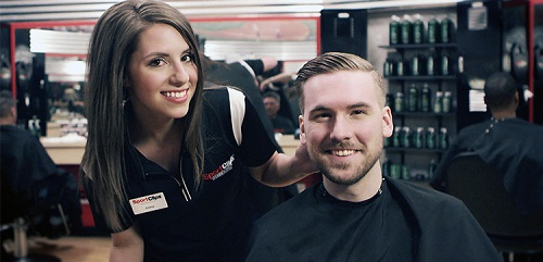 Sport Clips Haircuts of James River Towne Center​ stylist hair cut